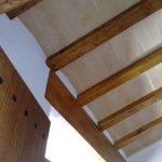 Vigas estructura techo