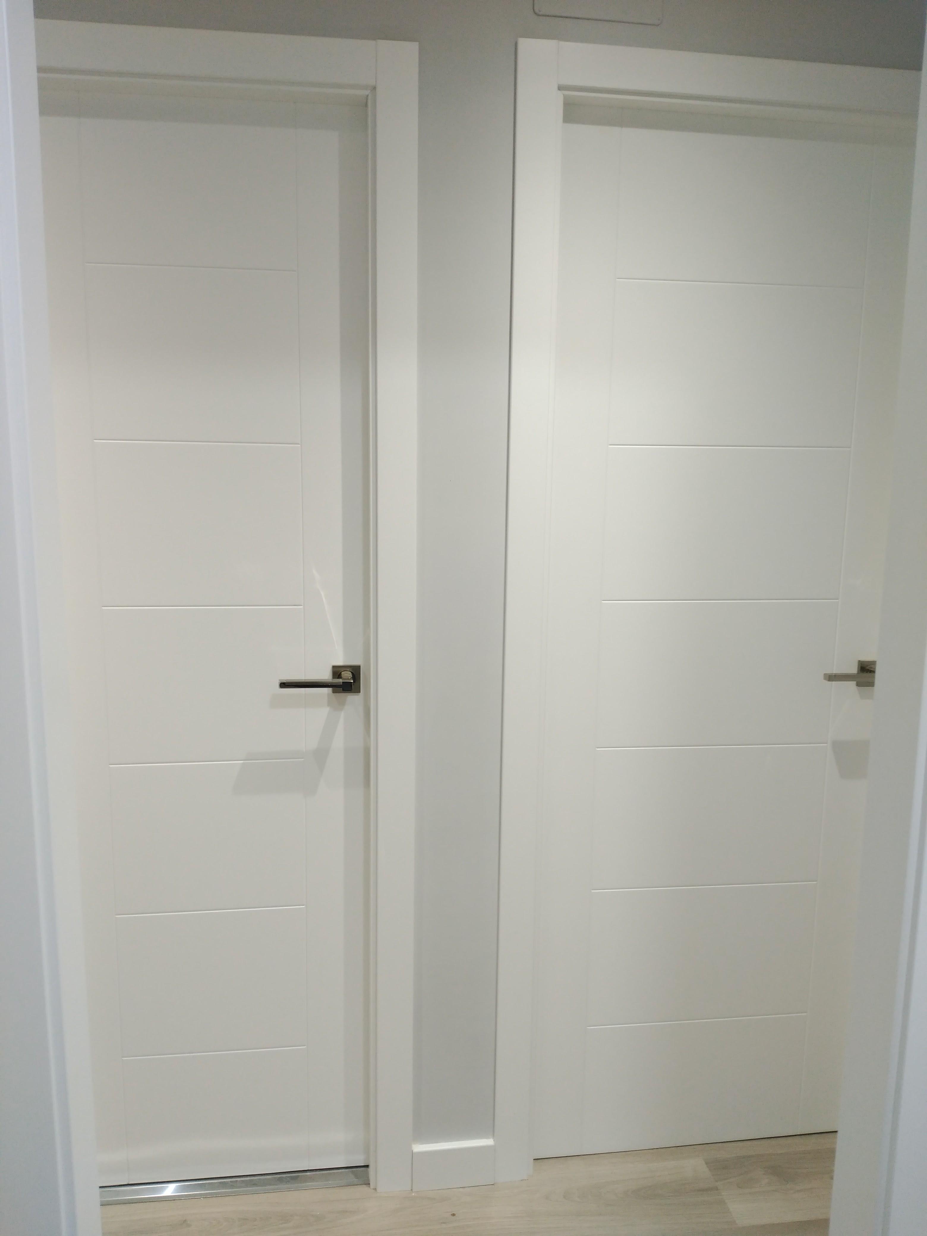 Proyectos en puertas de paso carpinter a murillo for Puertas de paso de cristal