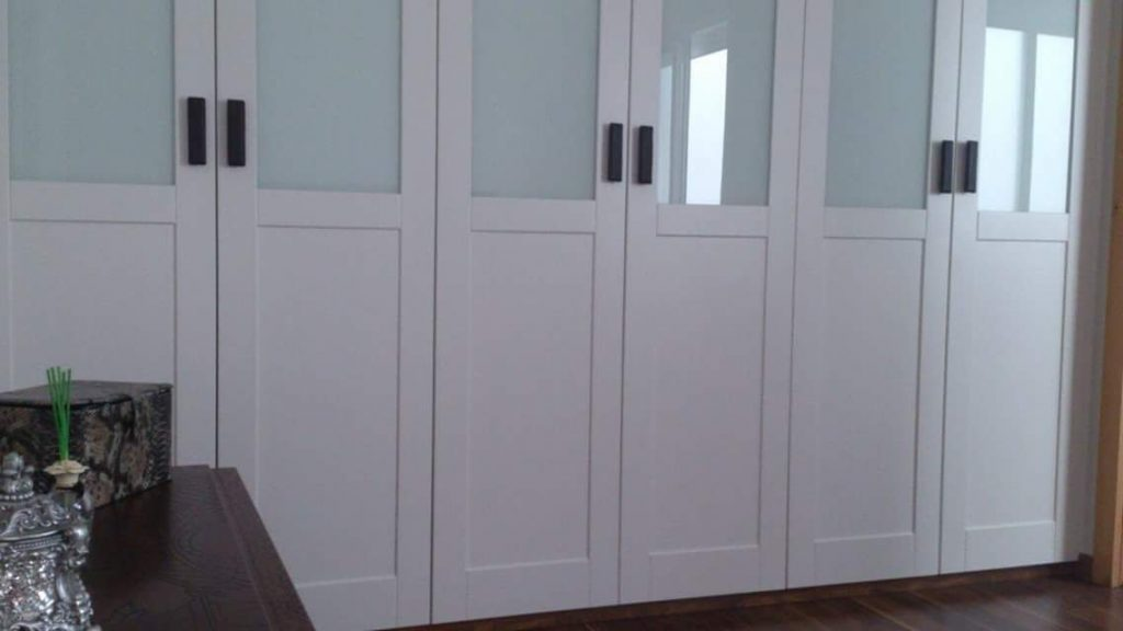 Frente armario combinado